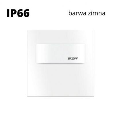 Oprawa schodowa LED Skoff Tango Short Biała Biała zimna IP66