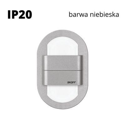 Oprawa schodowa LED Skoff Duo Rueda Alu Niebieska IP20