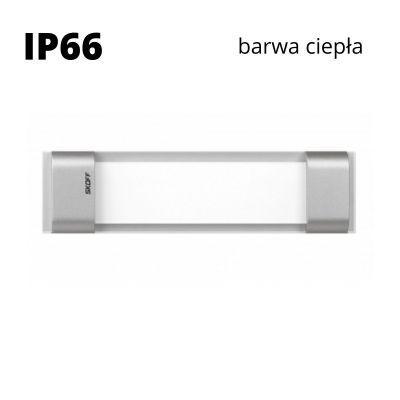 Oprawa schodowa led Skoff Rumba Alu Biała ciepła IP66