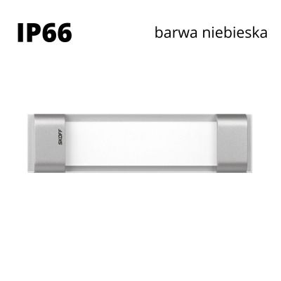 Oprawa schodowa led Skoff Rumba Alu Niebieska IP66