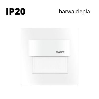 Oprawa schodowa led Skoff Tango Biała Biała ciepła IP20