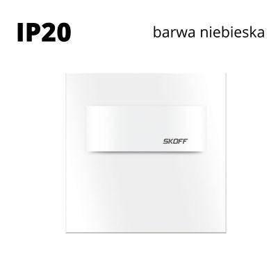 Oprawa schodowa LED Skoff Tango Short Biała Niebieska IP20