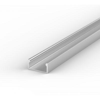 Profil LED Greenie P4-1S2 2m srebrny anodowany nawierzchniowy