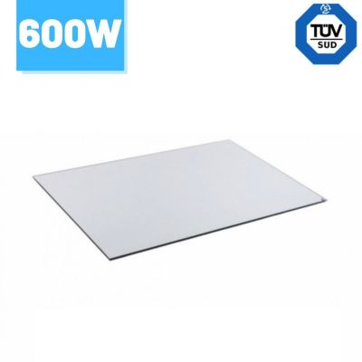 Lustrzany panel grzewczy na podczerwień 60x90cm 600W - 5 lat gwarancji - 11 - 15m3 Greenie