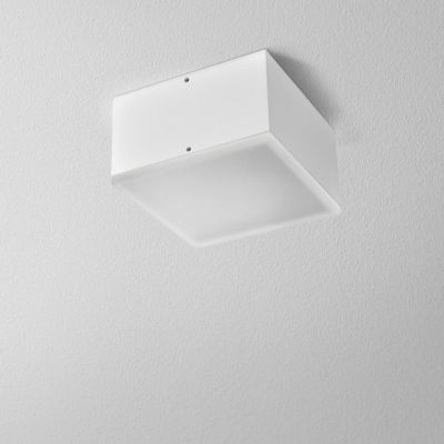 Plafon AQform Only Square LED Surface Biały Struktura