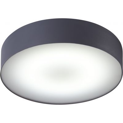 Plafon Nowodvorski Arena graphite LED 18W IP44 Ø400mm