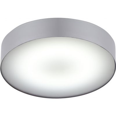 Plafon Greenie Arena silver LED 18W IP44 Ø400mm