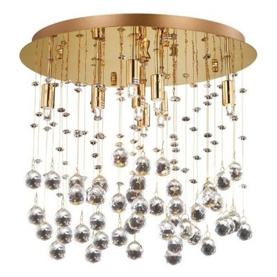 Plafon IdealLux 80932 Moonlight PL8 Oro
