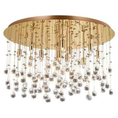 Plafon IdealLux 82783 Moonlight PL12 Oro