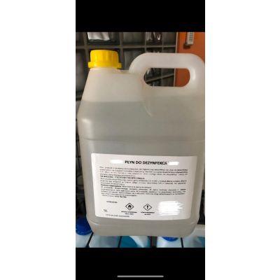 Płyn do dezynfekcji - 70% alkoholu. Spirytus Całkowicie Skażony 70% - 5L