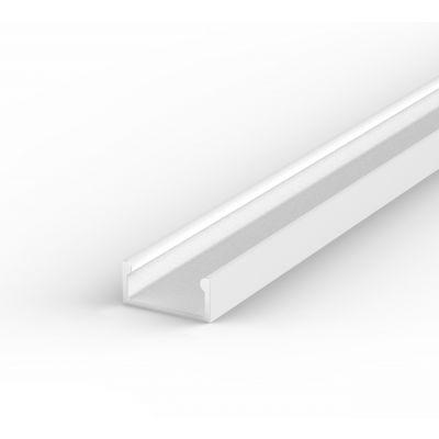 Profil LED Greenie P4-1B 1m typ A biały lakierowany nawierzchniowy