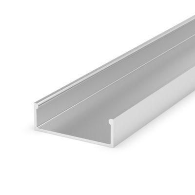 Profil LED Greenie P13-1S 1m nawierzchniowy srebrny anodowany
