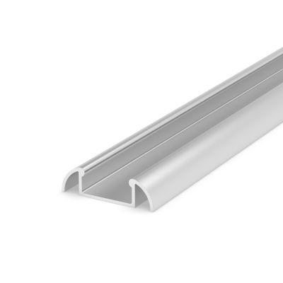 Profil LED Greenie P2-1S2 2m nawierzchniowy anodowany srebrny
