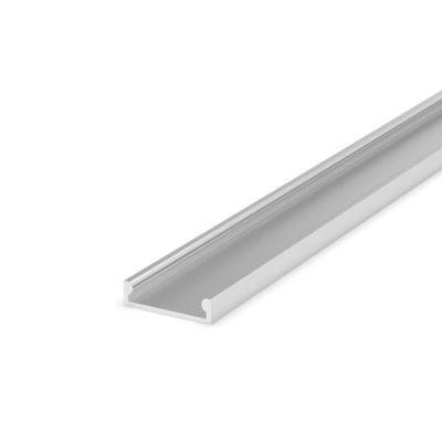 Profil LED Greenie P4-3 2M srebrny nawierzchniowy anodowany