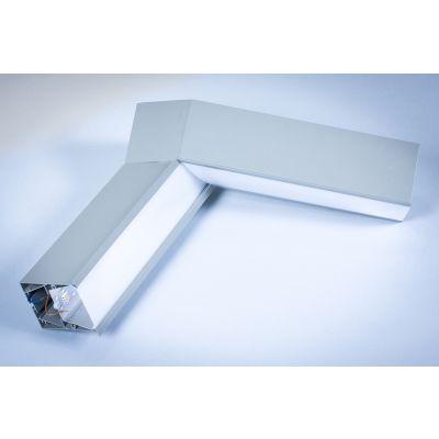 Profil Liniowy LED Greenie Linea wpuszczany - narożnik wertykalny 35° 20W