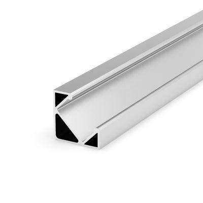 Profil LED Greenie 1m Typ C - kątowy srebrny anodowany
