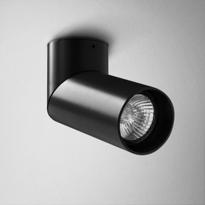 Reflektor AQForm Rotto Spot Czarny Struktura