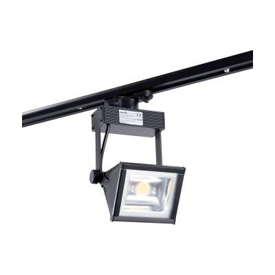 Reflektor Szynowy 1-fazowy LED Greenie Track Light 30W czarny - szeroki kąt świecenia