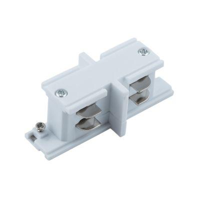 Konektor do szyn 3-fazowych prosty – biały