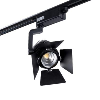 Reflektor Szynowy 1-fazowy LED Greenie Track Light 30W czarny - regulowany kąt świecenia
