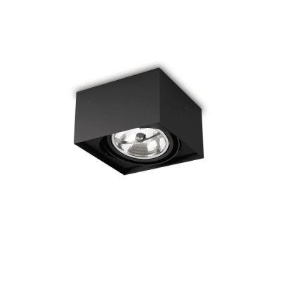 Spot AQForm 40110-0000-T8-PH-12 SQUARES mini 111x1 Czarny struktura