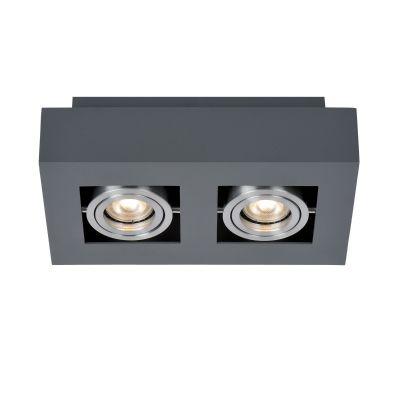 Spot natynkowy Italux IT8002S2-BK-AL Casemiro