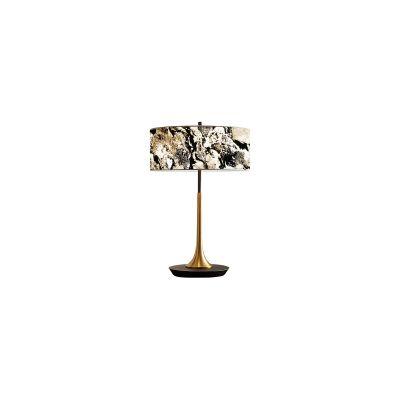 Lampa stołowa Abigali 6630 Marble Stone 601B 6000K 36 x 55 cm