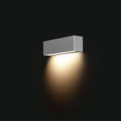Lampa ścienna Nowodvorski STRAIGHT WALL LED SILVER XS