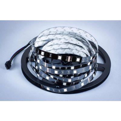Taśma LED Greenie 30x5050SMD 7,2W/m Czarne PCB RGB