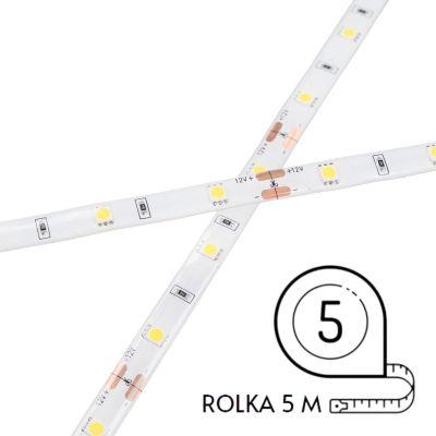 Taśma LED Greenie 1m 30 diod 5050SMD na metr 7.2W/mb wodoodporna IP65 Rolka 5m