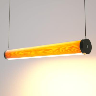 Lampa LED Wooden TUBE Ash Wi-Fi-Control