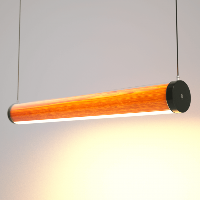 Lampa LED Wooden TUBE Oak Wi-Fi-Control