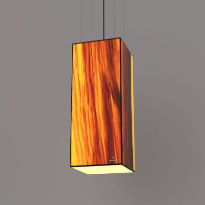 Lampa wisząca LED Wooden TIMBER Tulip Wi-fi Control