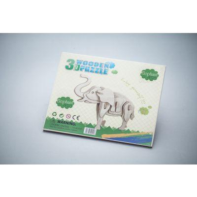 Zabawka drewniana - Słoń