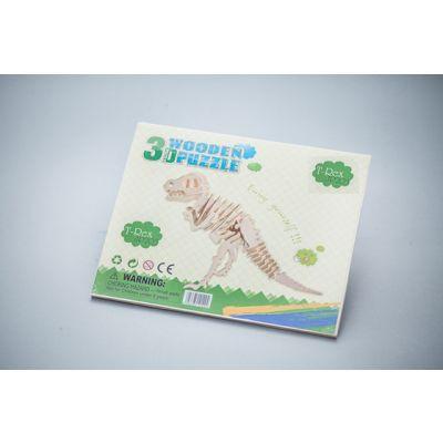 Zabawka drewniana - T-Rex