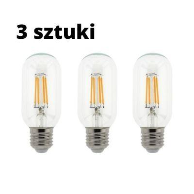 Zestaw 3 szt. - Żarówki dekoracyjne Abigali Ideal E27 3W 3000K filament Led