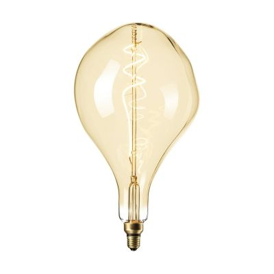 Żarówka Organic XXL Gold LED Lamp  6W  E27 Titanium 2200K 165 x 270mm  PROMOCJA