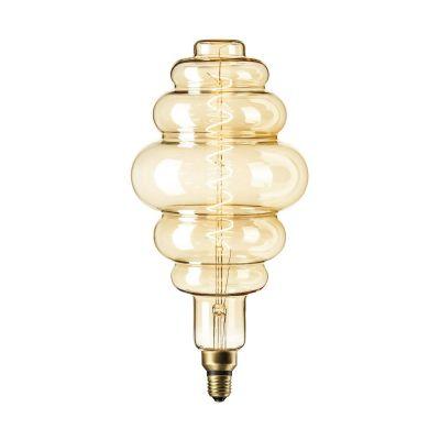 Żarówka Paris Gold LED XXL  6W  E27 Titanium 2200K 405 x 200mm  PROMOCJA