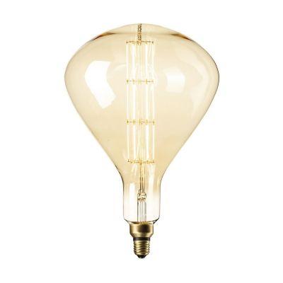 Żarówka Sydney Gold LED lamp XXL  LED  8W  E27 Titanium 2200K 388 x 245mm  PROMOCJA