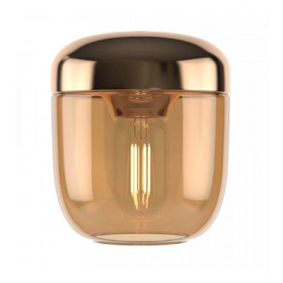 Lampa wisząca Umage 2215 Acorn amber brass  + zawieszenie w komplecie