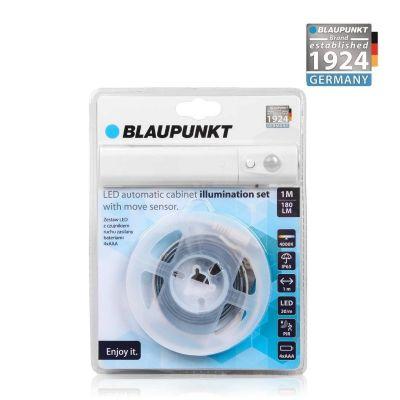 Blaupunkt Taśma LED  z czujnikiem ruchu zasilana bateriami 4xAAA Cabinet Light Set barwa naturalna