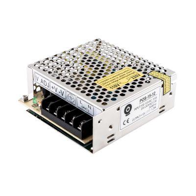 Zasilacz modułowy POS-15-12 15W 12V aluminiowy