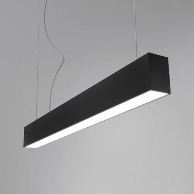 Zwis AQForm Tru LED 114 cm czarny mat