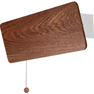 Kinkiet OSLO smoked oak 9311 Nowodvorski Lighting