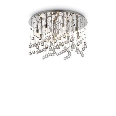 Lampa na sufit Ideal Lux Moonlight 077802 PL Chrome