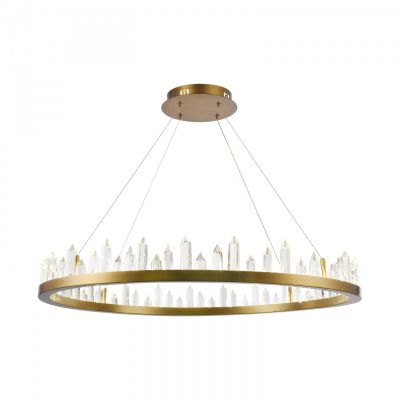 Żyrandol Gletscher LED Brass H186-PL-01-61W-BS Maytoni
