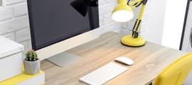 Oświetlenie LED do domowego biura / gabinetu